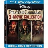 蓝光电影碟 BD25G 加勒比海盗四部曲 4碟