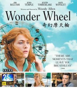 蓝光碟片BD25G 奇幻摩天轮 2017 豆瓣评分7.1
